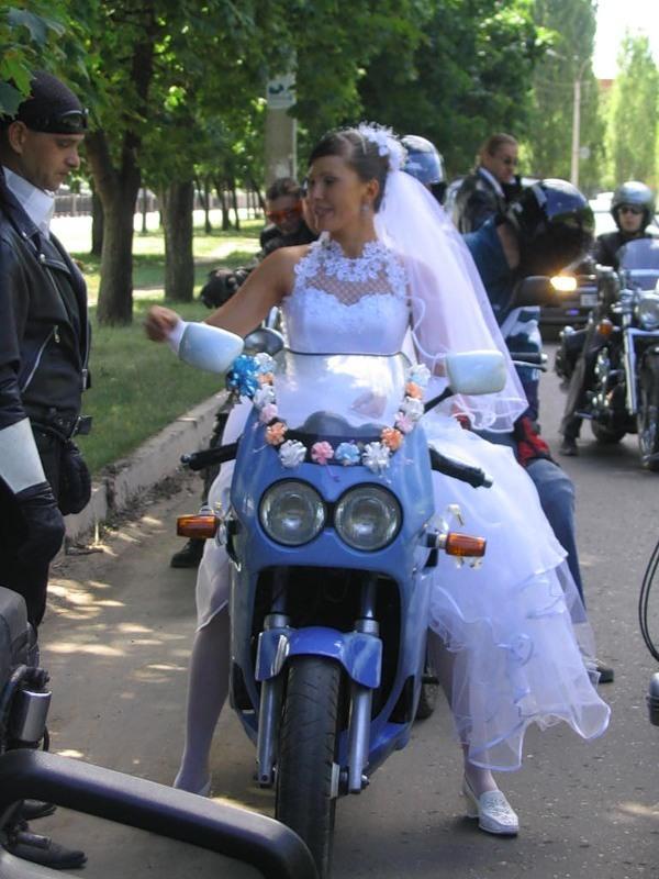 """Женский сайт Микруша.ру предлагает вам сценарий выкупа невесты на  """"Байкерской..."""