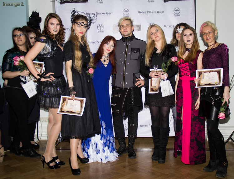 Gothic fashion night