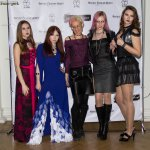 105 designer Antonina Pevtzova and models